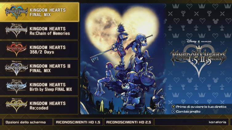 KINGDOM HEARTS - HD 1.5+2.5 ReMIX