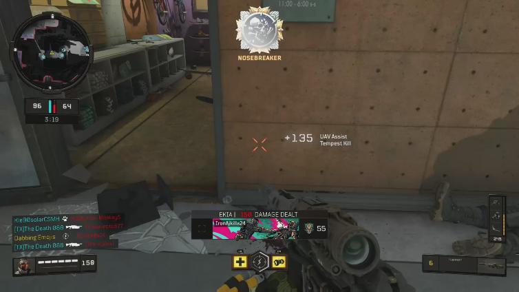 Dabbing Emojis playing Call of Duty: Black Ops 4
